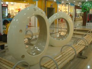 玻璃钢休闲椅/商场休闲椅/玻璃钢家具