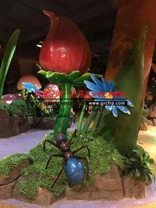 玻璃钢商业雕塑/仿真植物/商业美陈