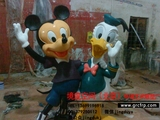玻璃钢雕塑/卡通雕塑/北京雕塑厂