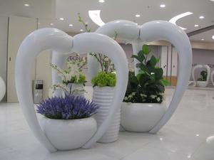 玻璃钢花钵/玻璃钢花盆/休闲椅/花器
